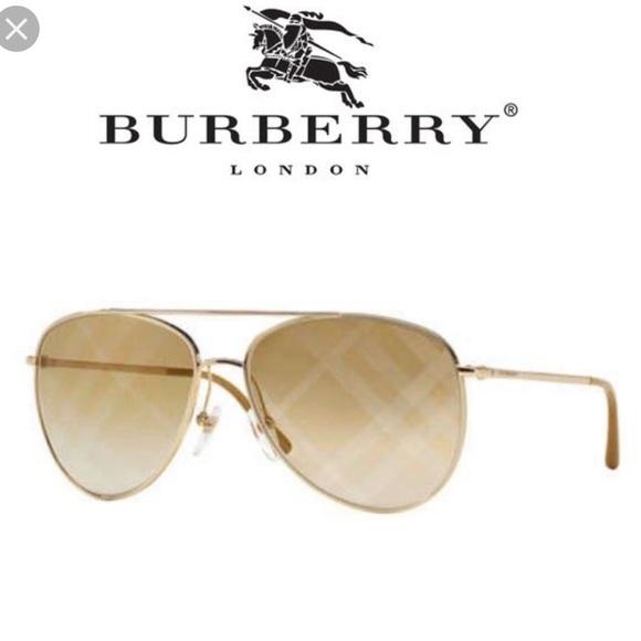 03f49c400183 Burberry Accessories - Burberry Aviator Check lens
